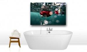 cuadros de metacrilato, metacrilato en el baño, decoración, soportes de impresión, impresión digital, fotografía