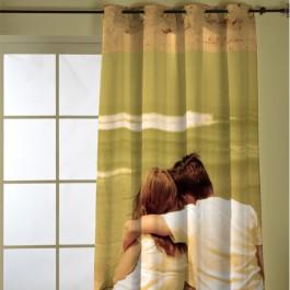 impresión de fotos en cortinas, cortinas con ollados, personalizar mi habitación, ideas originales
