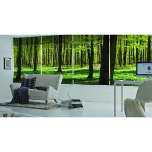impresión de fotos en estores, personalización, decoración de salón