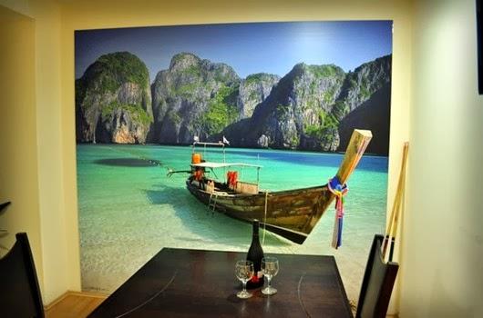 fotos de playas, fotomurales decorativos,papel pintado,murales, papel para las paredes