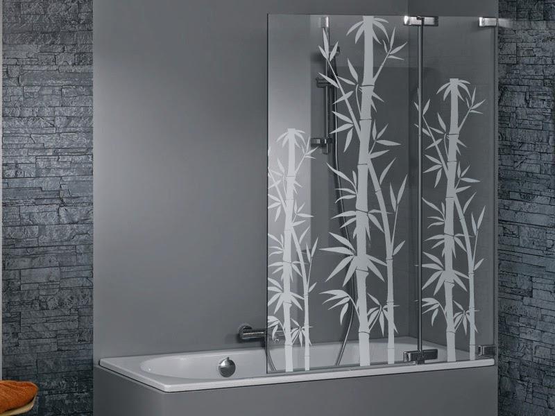 baños de diseño,baños modernos,mamparas de ducha,vinilos para baños,vinilos,mampara baño, personalización, vinilo naturaleza,