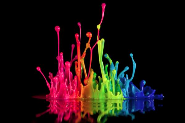 Colores de impresión fotografica