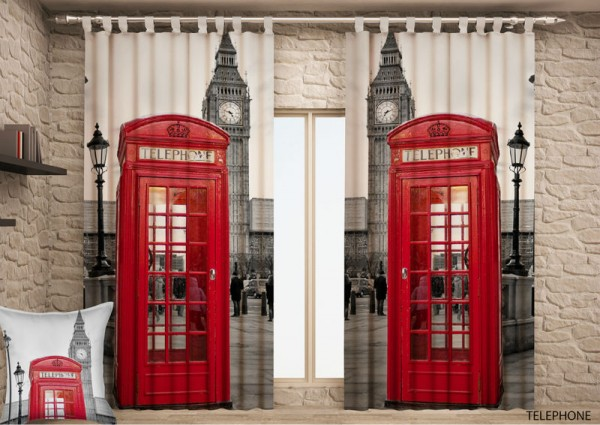 Cortina impresa London